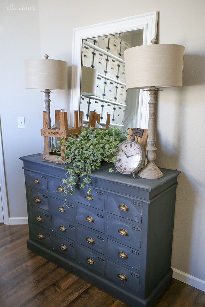 Home Office/Studio Makeover: Graphite Chalk Paint
