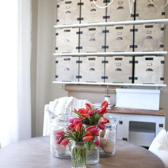 DIY Vintage Apothecary Inspired Storage Boxes