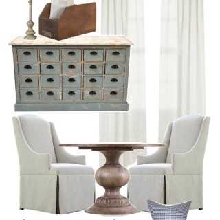 Elegant and Functional Home office/ studio space