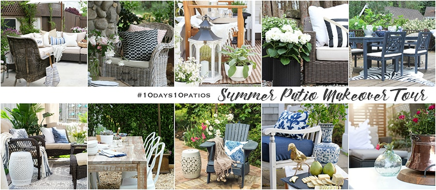 10days10patios Summer Patio Makeover Tour!