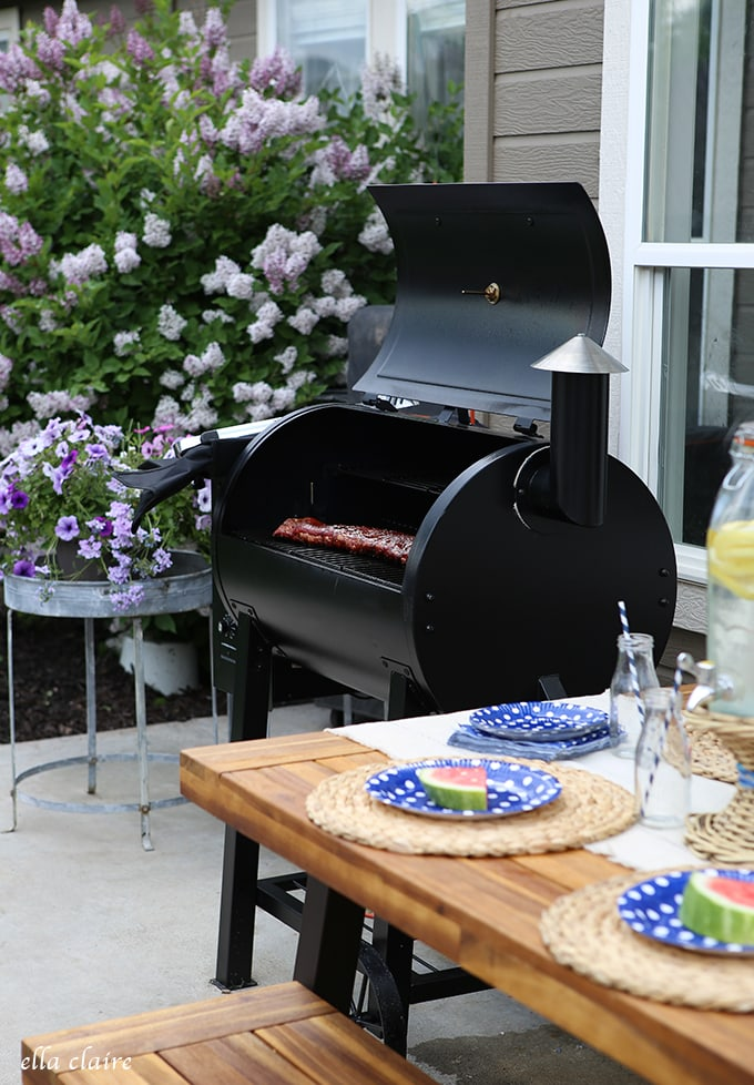 Father's Day Smoker Barbecue