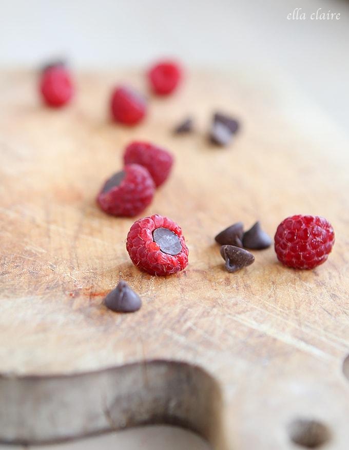 Dark Chocolate Raspberries