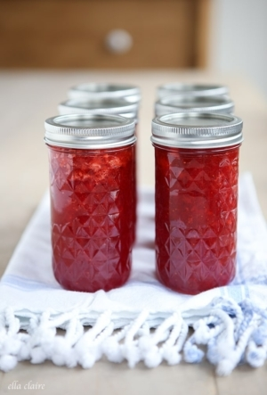 Homemade Strawberry Jam | Canning