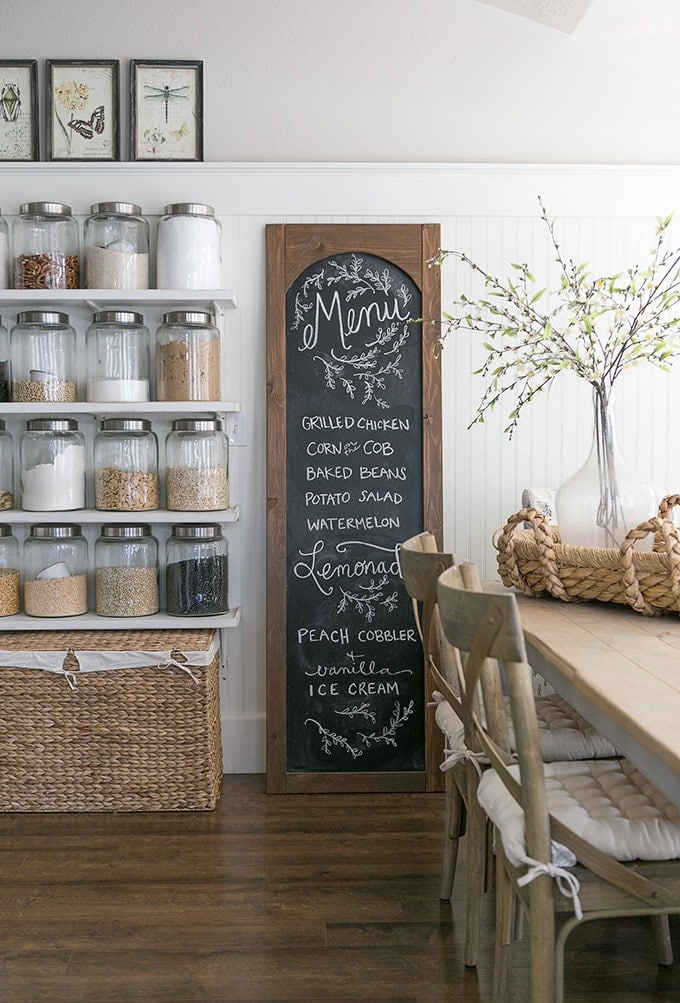Good I Have Been Wanting To Build An Arched Chalkboard For My Kitchen For A  While Now And I Thought This Would Be The Perfect Opportunity.