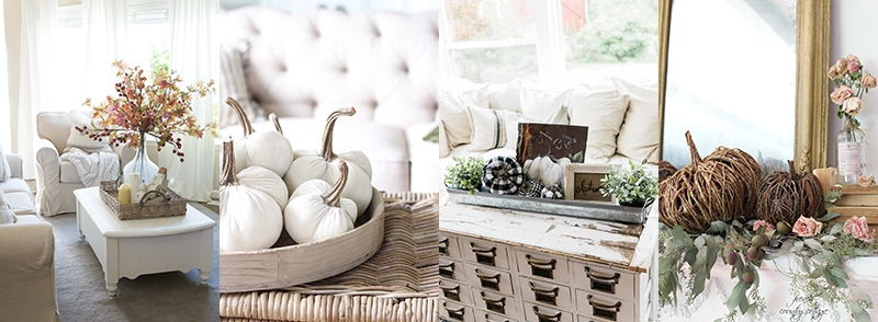 simple fall living room decor jennifer rizzo