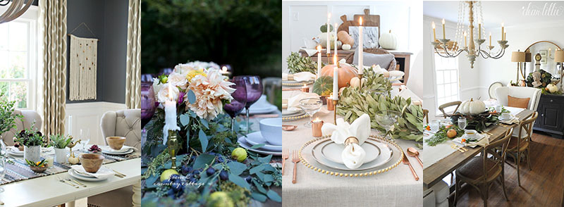 Farmhouse Holiday Tablescape