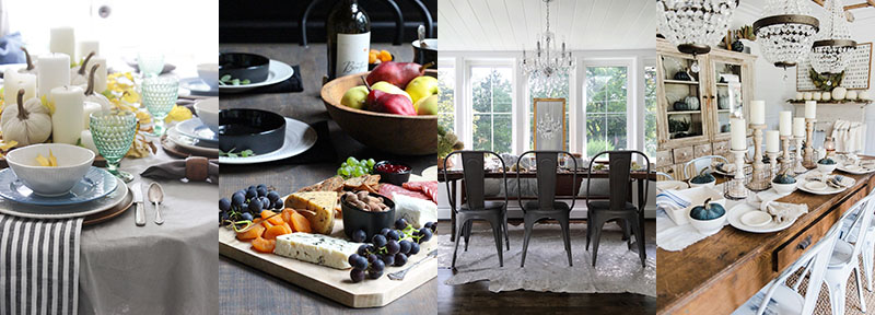 Fall Farmhouse Holiday Tablescape