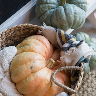 Rustic Fall Porch | Farmhouse Holiday Series