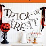 Trick or Treat Halloween Banner | Free Printable
