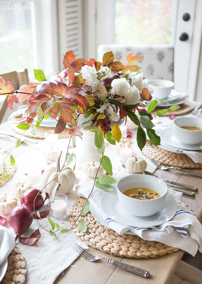 Easy elegant Autumn entertaining tips