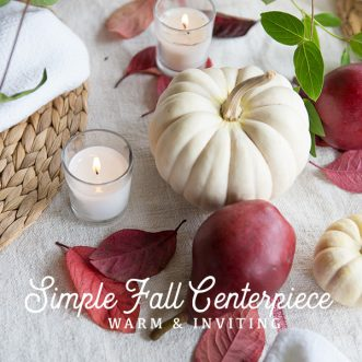 cozy, easy, and simple fall tablescape ideas for everyday or autumn entertaining for family, friends, and little ones. #dinnerparties #fall #friends #littleones #falldecorating #tablescape #falltablescape