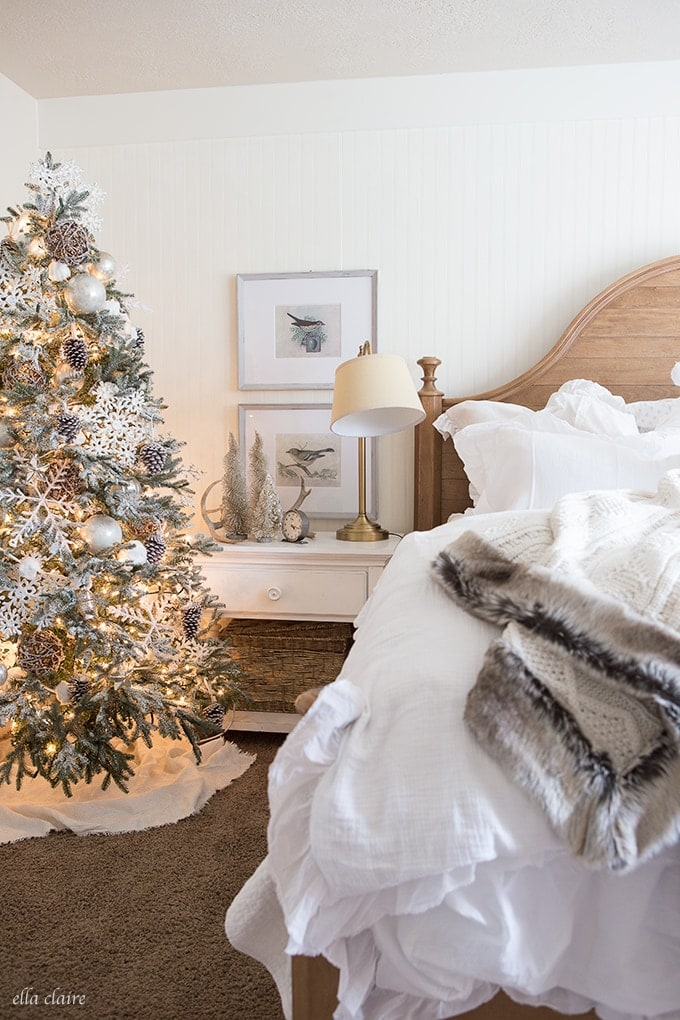 Delicieux Woodlands Christmas Bedroom Decor
