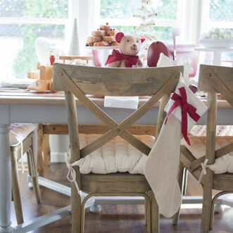 Children's vintage toy tablescape