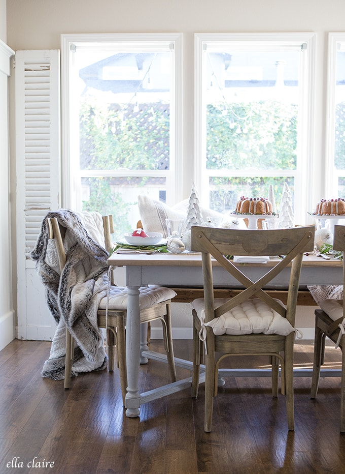 Christmas tablescape farmhouse holiday series ella claire - Interesting tables capes for christmas providing cozy gathering space ...