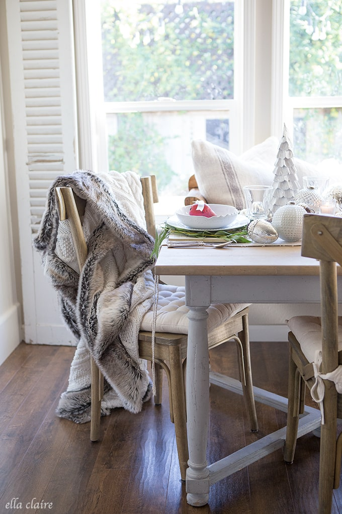 Cozy Throw | Farmhouse holiday series