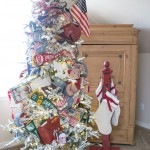 DIY Stocking Hanger | Vintage Toy Christmas Tree