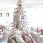 Christmas Tree & Family Room   Farmhouse Holiday Series