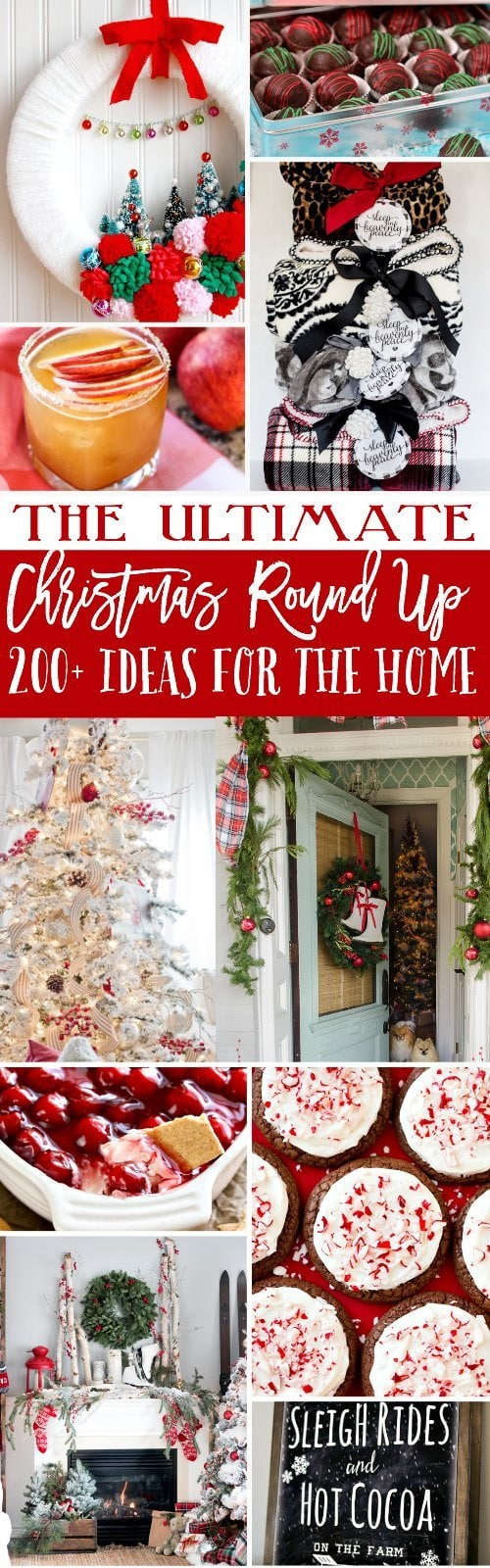 the ultimate christmas round up with 200 ideas