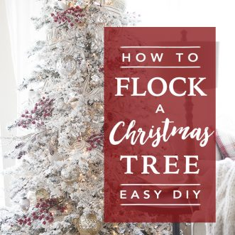 i am so excited to share with you how to flock trees today this is the real professional flocking not the knock offs that you sometimes see on pinterest