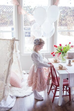 Vintage Kids Valentine's Day Party