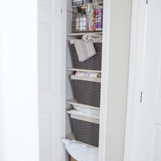 Making the Linen Closet More Functional