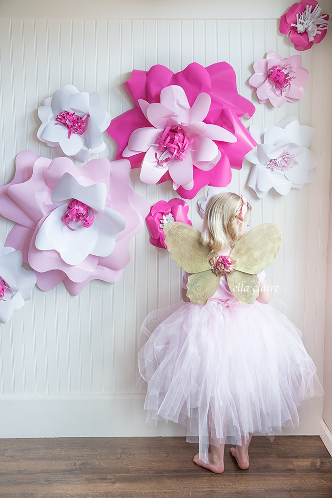 Little Girl Fairy Birthday Party
