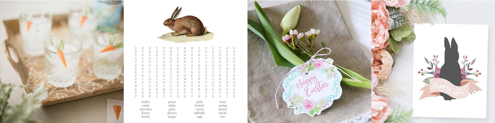 29 Free Easter Decor Printables