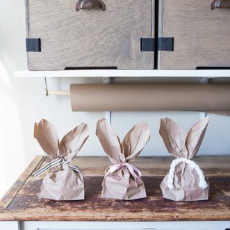 Bunny Ears Bags | Printable Template