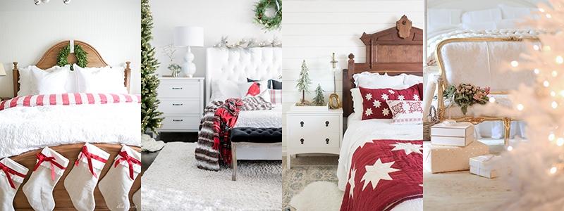 Preppy Christmas Bedroom