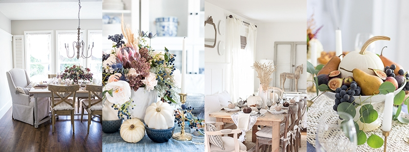 Fall Dining Room: Farmhouse Holiday Tour