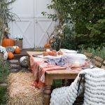 Cozy Outdoor Fall Family Entertaining