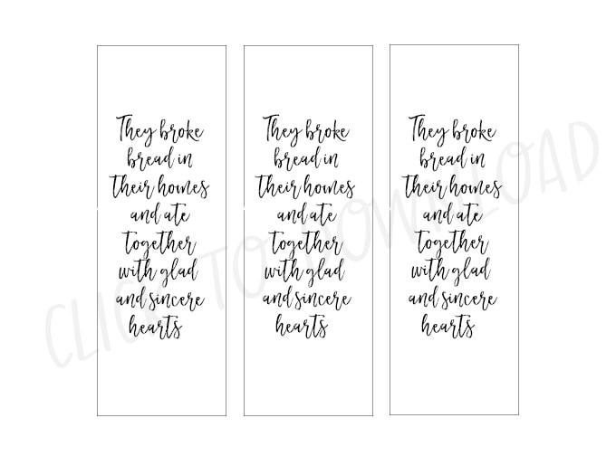 Free Printable Place cards for a sweet Fall table