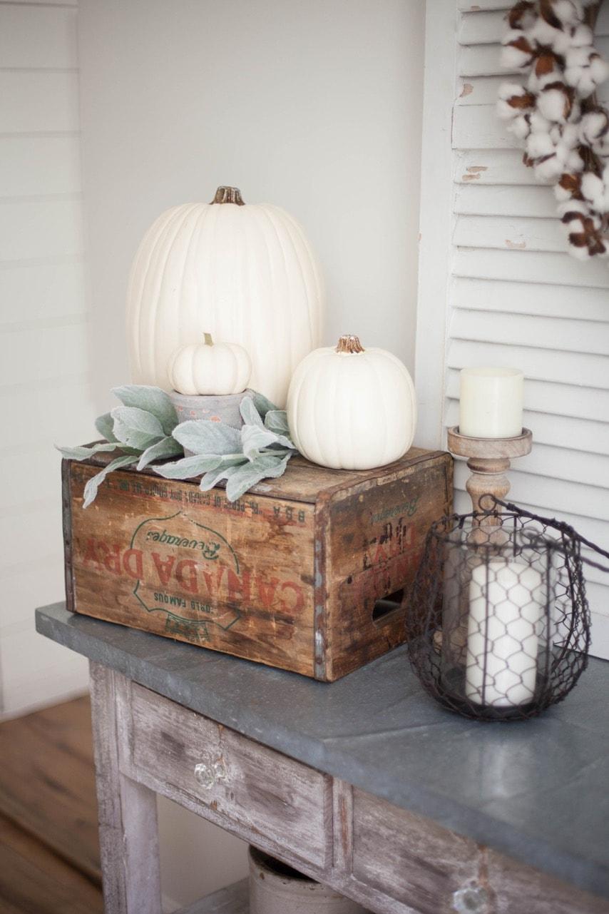 Farmhouse Fall Decor Ideas