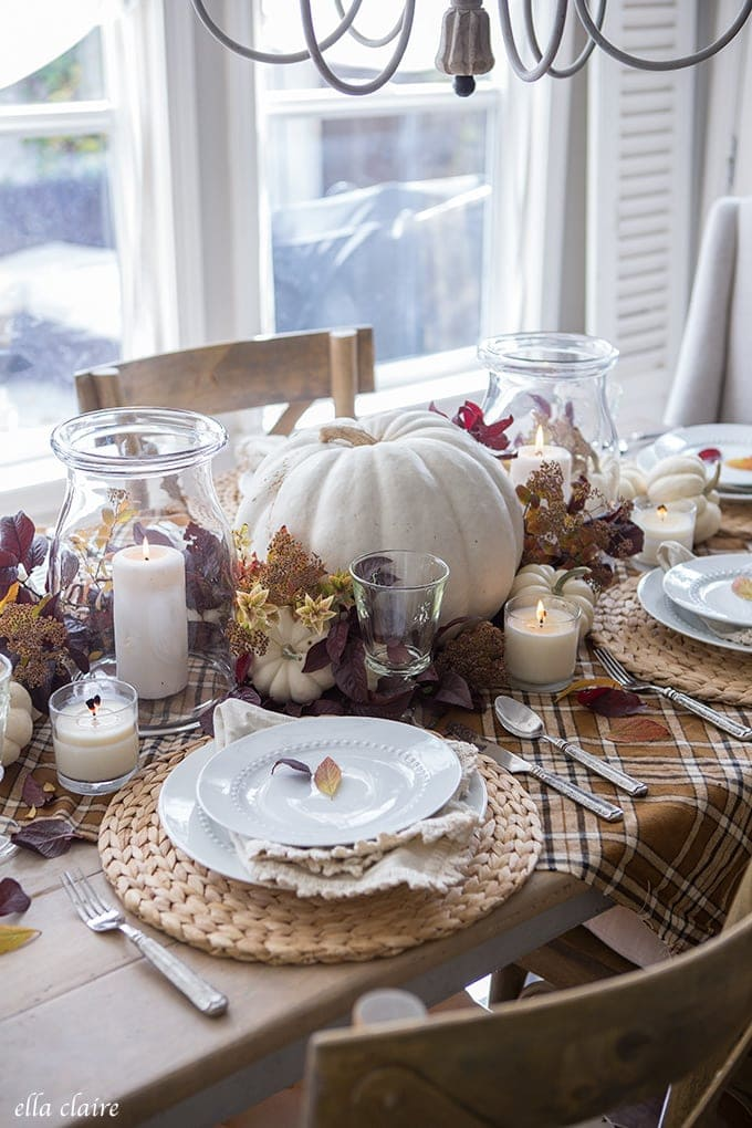Simple Tips for creating a beautiful Thanksgiving Table
