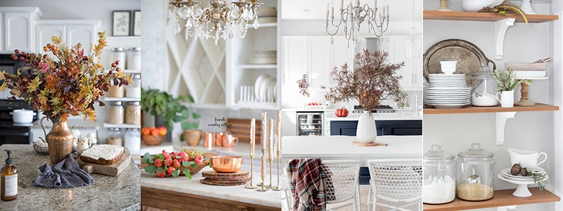Simple Early Fall Kitchen Decorating Ideas Nina Hendrick