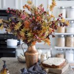 Fall Kitchen | Traditional Autumn Colors