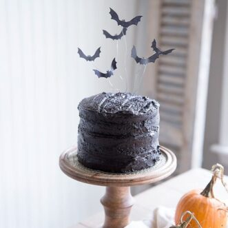 Halloween Bat Cake Topper