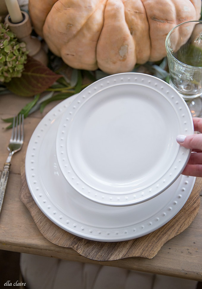 Keeping the basics on hand makes it easy and effortless to entertain for all of those fall guests