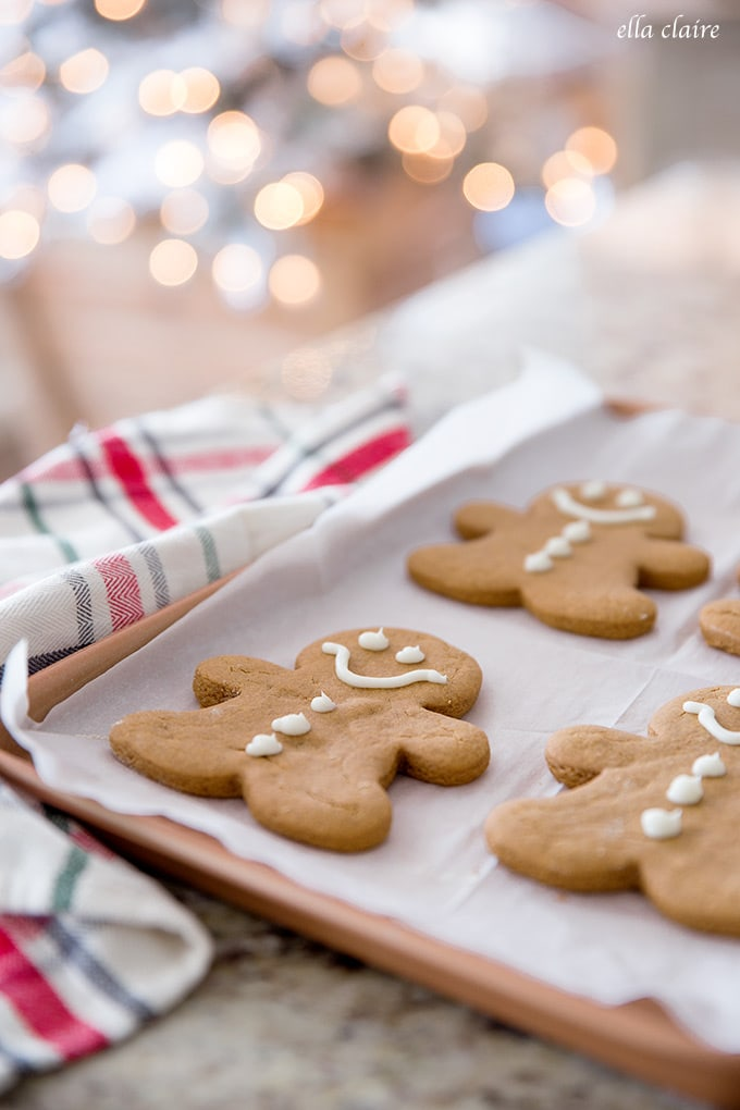 The perfect gingerbread cookie recipe with delicious spices and soft texture.