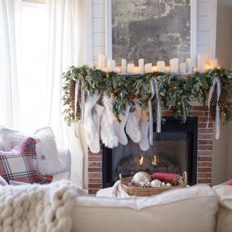 Nostalgic Christmas Tree & Family Room