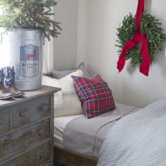 Farmhouse Christmas Little Boys' Room
