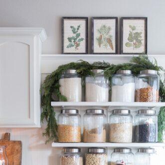 Free Printable Vintage Christmas Botanicals