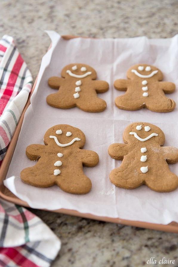 soft gingerbread men cookie recipe