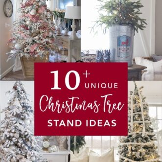 10+ Unique Christmas Tree Stands