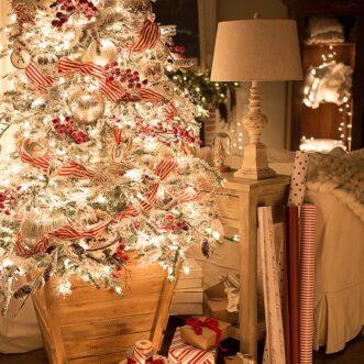 Warm Glow of Christmas Night