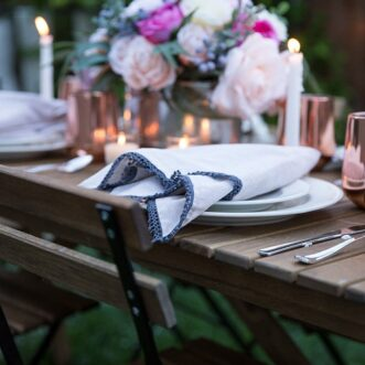 Feminine Mother's Day Tablescape