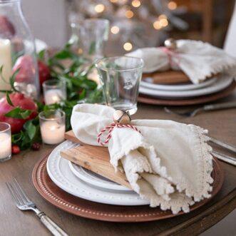 Jingle Bells Tablescape