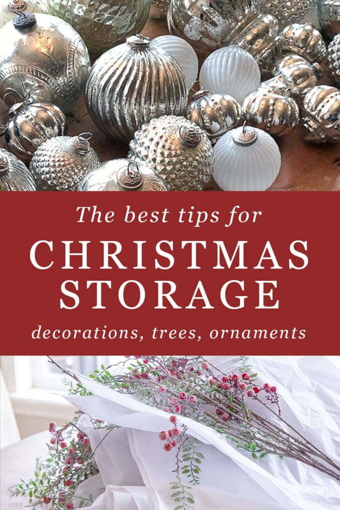 Christmas Storage Tips- Ornaments, Trees, Decor