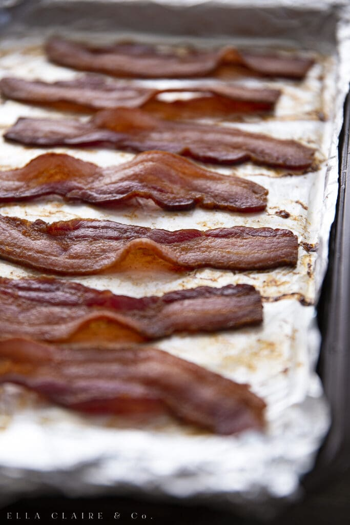 How to make the BEST Bacon- in the oven!