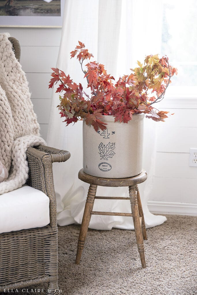 Fall Decor | Budget Friendly Family Room